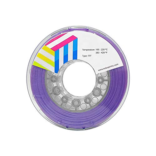 Eolas Prints | 3D Printing Filament 100% PLA+ | 3D Printer | Made in Spain | Food Safe and Toy Making | 2,85 mm | 1 kg | Lilac