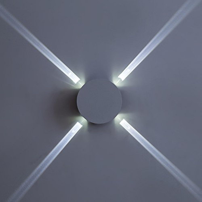 Wandleuchten Wandspots Wandlampe für Wohnzimmer, Schlafzimmer,Büro, Restaurants, Hotels,LED Bett Kopf Lampe moderne einfache kreative Gang Hotel Kreuz Sterne Licht, 135  43mm