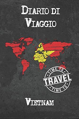 Diario di Viaggio Vietnam: 6x9 Diario di viaggio I Taccuino con liste di controllo da compilare I Un regalo perfetto per il tuo viaggio in Vietnam e per ogni viaggiatore