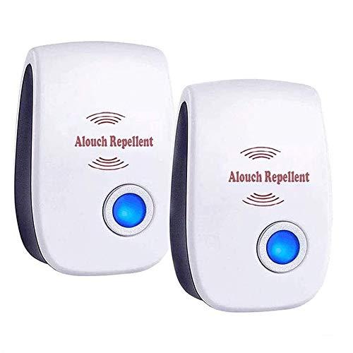 potente para casa Repelente ultrasónico ALOhaLi, control de plagas de mosquitos para moscas, cucarachas, etc. 2020
