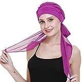 Cheveux Turbans Chapeaux pour Les Femmes Cancer Perruque de Longs Cheveux - Chef conclut la pac Foulard