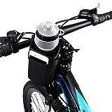 VLTAWA Soporte de bicicleta para botella de agua sin tornillos, soporte para vaso de bicicleta, soporte de bicicleta para bebidas para adultos y niños (1 litro, insolado, resistente, universal)
