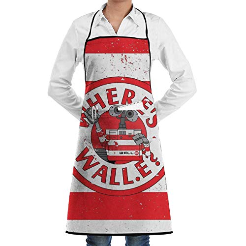 XCNGG Delantal de Cocina Worms Cooking Apron with Pocket for Men Women