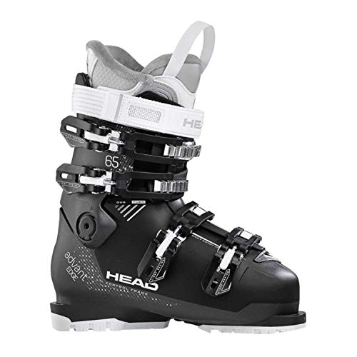 HEAD Damen Advant Edge 65 Skischuhe, Anthracite/Black, 245