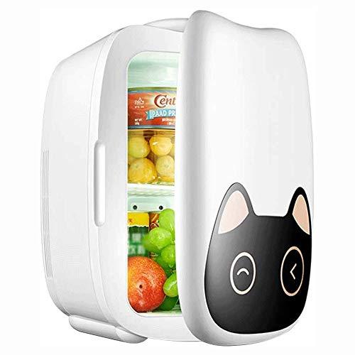 Big Shark Mini-koelkast, 6 liter, voor auto's, autoreisen, huizen, kantoren en dormen, fluisterstille drankkoeler, voor auto's en huishouden