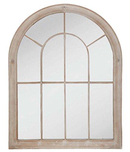 Clayre & Eef 52s079Espejo Espejo de pared efecto ventana rejilla gris aprox. 69x 4x 88cm
