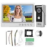 Kit de intercomunicador de Video WiFi Intercomunicador en Tiempo Real Videoportero de visión Nocturna Kit de(European regulations)