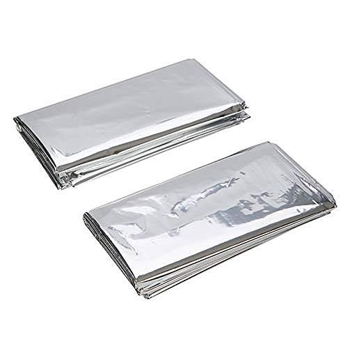 Silverline Notfall-Foliendecken 226306, Set mit 2Stück