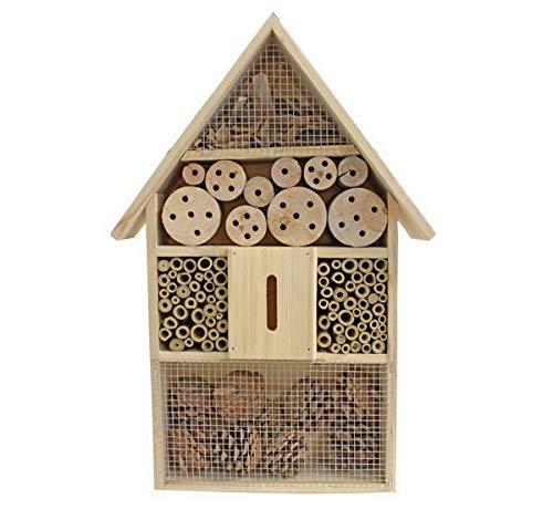 Insektenhotel XXL aus Holz | Nistkasten Insekten Brutkasten ca. 50 cm