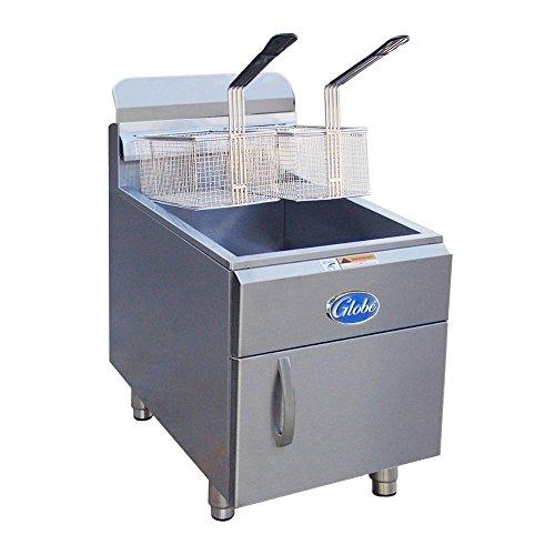 Globe GF30PG 30-Pound Liquid Propane Countertop Fryer