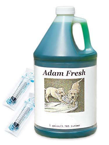 アダムフレッシュ 3785ml(1ガロン) 【10ml シリンジ付き】 256倍まで希釈可能な消臭クリーナー…