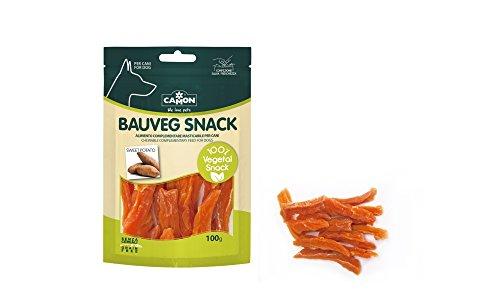 Snack para perros 100% vegetales sin cereales alle patatas dulces