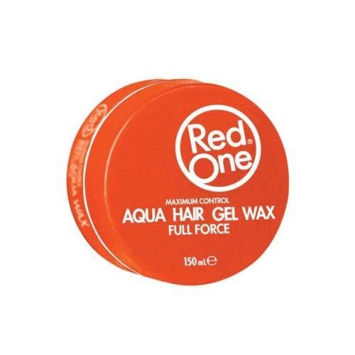 RedOne Maximum Control Aqua Hair Gel Wax Orange Full Force 150ml