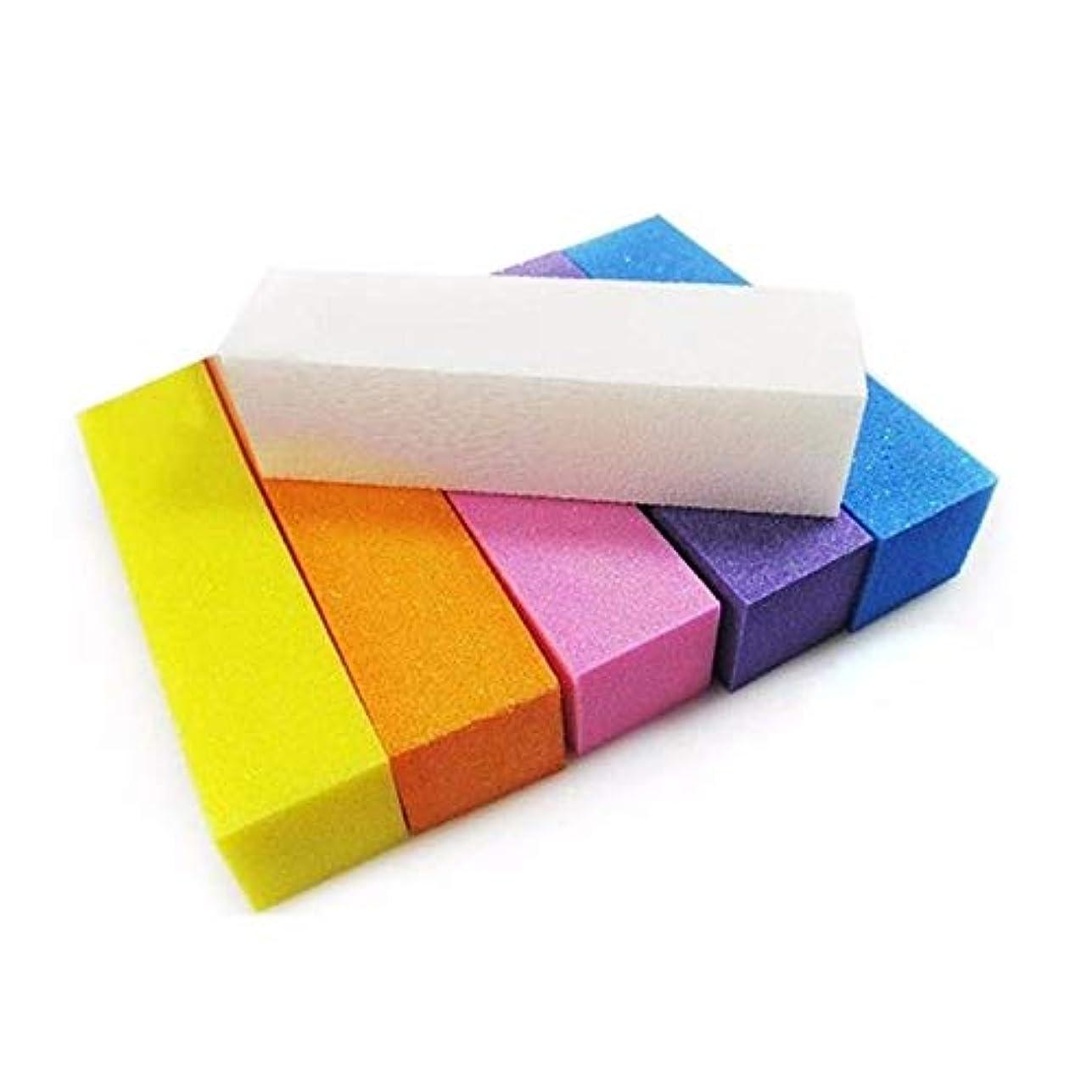 上に築きますエスカレート想起ネイルブロック バフ研磨 パッドブロック バフ用具 メイクツール 研磨ブロック バフ用具 マニキュアペディキュアケアツール (3個)