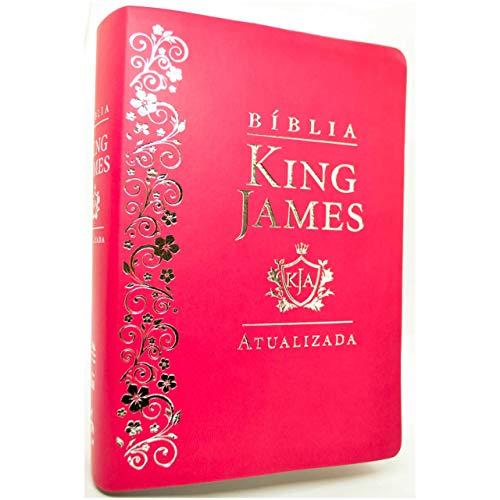 Bíblia King James. Atualizada Bíblia De Estudos - Pink
