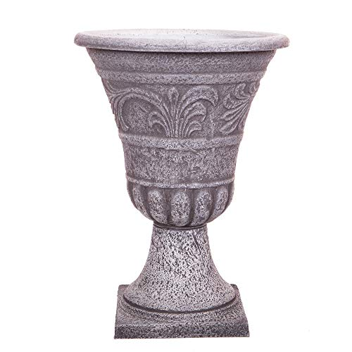 YouGarden Urn Planter 40cm (15.75in) Stone Look