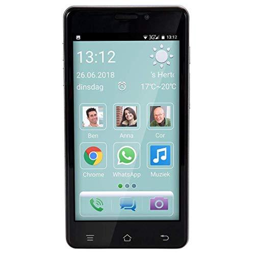 Fysic F101 - Smartphone Senior, Color Negro