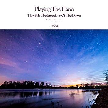 새벽 감성을 채우는 피아노 연주 Playing The Piano That Fills The Emotions Of The Dawn