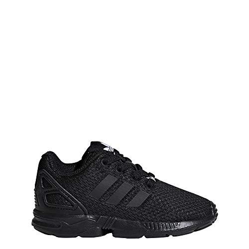 adidas Unisex Zx Flux EL I dziecięce buty do fitnessu, czarny - Schwarz Negbás Negbás Negbás 000-27 EU
