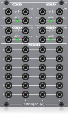 Behringer 173 QUAD GATE/MULTIPLES