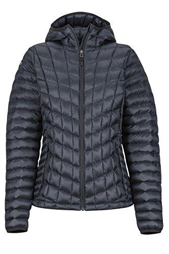 Marmot Damen Ultra-leichte Isolierte Winterjacke, Warme Outdoorjacke, Wasserabweisend, Winddicht Wm's Marmot Featherless Hoody, Black, M, 79090