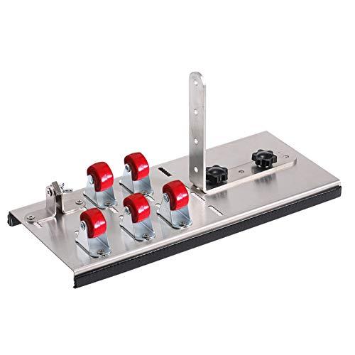Herramienta de corte de botellas de vidrio de acero inoxidable Herramienta de corte de botellas de cerveza de vino con máquina de corte de cinco ruedas