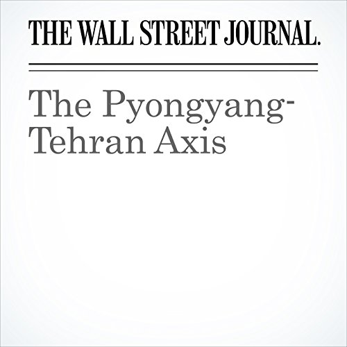 The Pyongyang-Tehran Axis copertina
