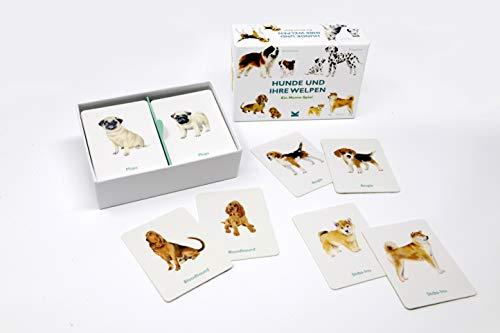 Hunde und ihre Welpen (Spiel): Ein Memo-Spiel