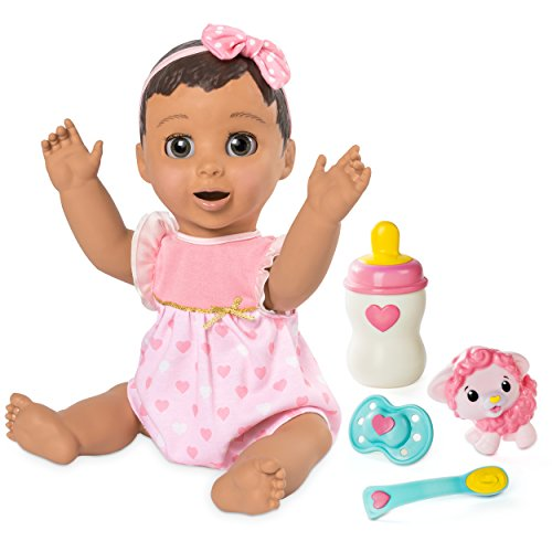 LUVABELLA - Brunette Hair - Responsive Baby Doll with Realistic Expressions and...