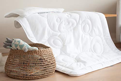 Babyset-Bett-Baerchen-Bettdecke-Baby-Kinder-Set-Steppbett-Kissen-100x135-40x60cm