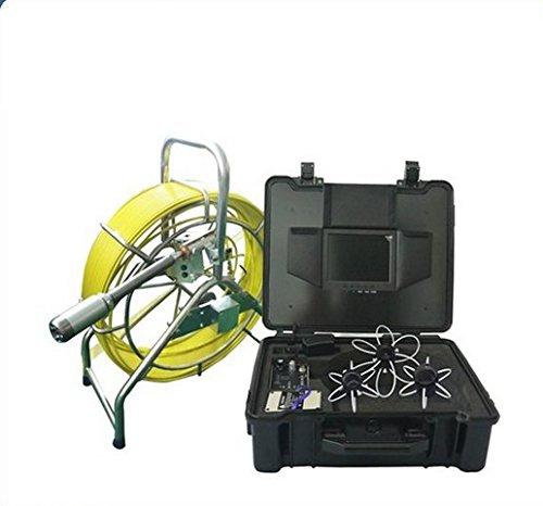 Gowe Auto Balance Drainage Wasser Rohr System Inspektion Kamera Video Endoskop 120m Glasfaser Kabel Sensor Größe: 1/10,2cm; horizontale Auflösung: 700TVL; Signal System: PAL