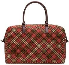 Kensington Plaid Overnight Bag