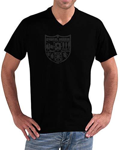 latostadora - Camiseta Zazpiak Bat Euskal para Hombre Negro S