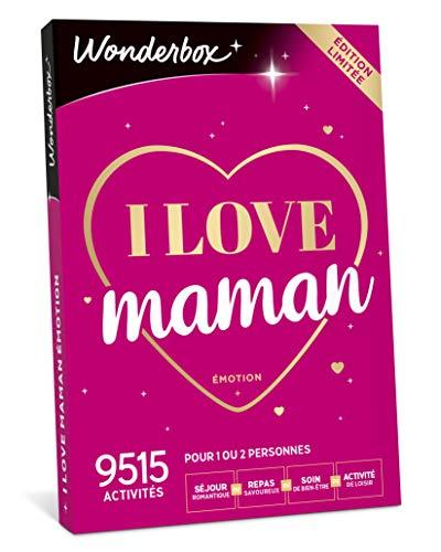 WONDERBOX - Cadeau fête des mères - I LOVE MAMAN - 9...