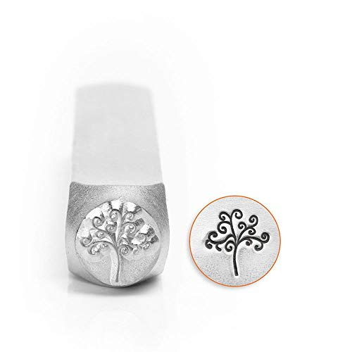 ImpressArt - 6mm, Tree of Life Metal Stamp, Perfect for DIY Crafts, Gifts, and Handmade Jewelry