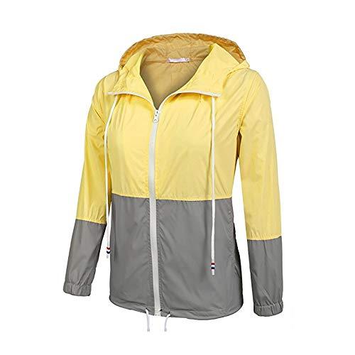 Goldenla regenjas naaien dames windjack mode eenvoudig en licht regen