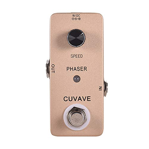 Muslady Guitar Effect Pedal True Bypass Phaser Effect Analog Phase Zinc...