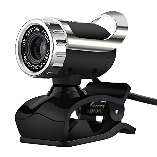 Gylejwh Neben Einem HD-Webcam, High-Definition-Webcam 12-Megapixel-Eingebautes Mikrofon Clip Art Webcam 360 Grad Drehende Digitalen Clip Art Tragbaren Digitalen Laptop