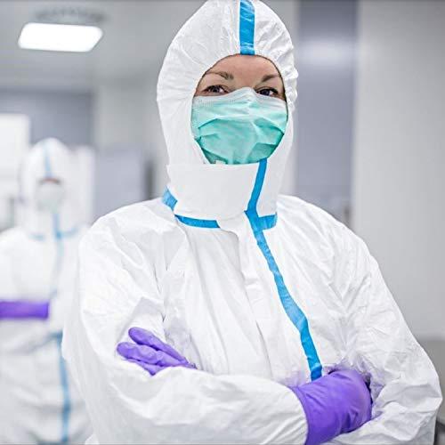 Need Sleep (10, Grün) Medizinische Masken Typ IIR EN 14683 CE Zertifiziert BFE 98% Atemmaske Atemschutzmaske OP Gesichtsmasken 3-lagig Einwegmaske medizinischer Mundschutz Hergestellt in EU