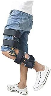 FULI Hinged Knee Brace ROM Knee ImmobilizerThermoplastic Sheet, Aluminum Alloy Leg Braces Orthopedic Patella Knee Brace Knee Immobilizer Brace Support Orthosis,Post-op Knee Brace FLX-3004