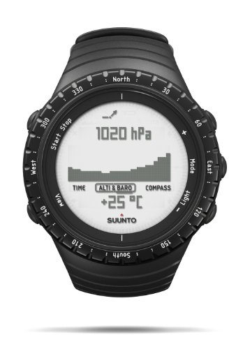 Suunto Core, Bussola Unisex Adulto, Regular Black,...