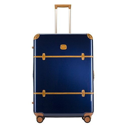 Bric's Bellagio 2.0 Ultra Light 32 Inch Spinner Trunk (Shiny Blue)