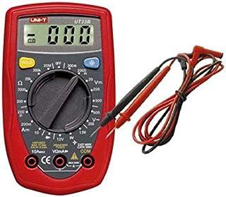 جهاز قياس كهربائي محمول UT33B لنطاق راحة اليد ال سي دي رقمي متعدد المقياس AC DC OHM فولت جهاز قياس ، 2724678871042