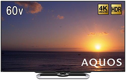 シャープ 60V型 液晶 テレビ AQUOS LC-60US40 4K HDR対応 低反射「N-Blackパネル」搭載 2016年モデル