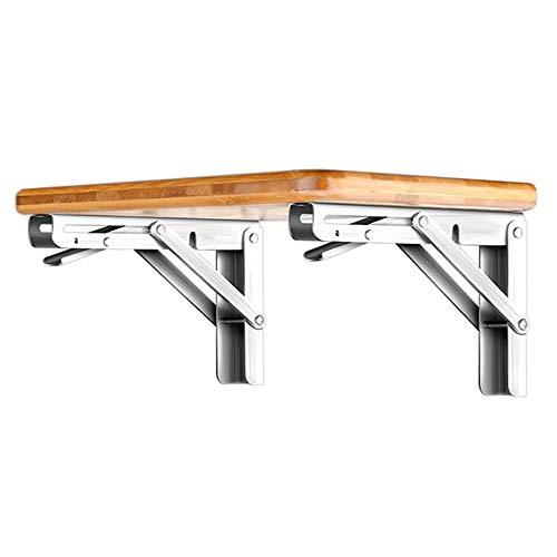 Faltbares Stativ aus Edelstahl 304 Tragbarer Esstisch Regalwand Schreibtisch Wandregalhalterung Wandmontage Computertisch