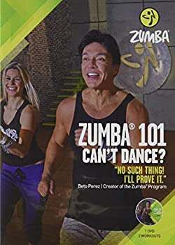 Zumba 101 Dance Fitness for Beginners Workout DVD Original Version .5x5.25x7.5  .25 LBS
