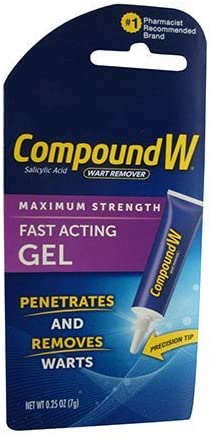 Max 55% OFF Compound W Wart Remover Maximum Strength Gel Fast-Acting San Jose Mall 0.25