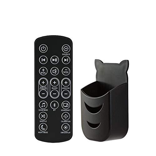 Reemplazo Mando a Distancia para JBL Bar Studio, Bar 2.1 Bar 3.1 Bar 5.1 Barra de Sonido, Soundbar Control Remoto de Repuesto + Batería CR2025 + Soporte, Home Cinema Accesorios para Altavoces