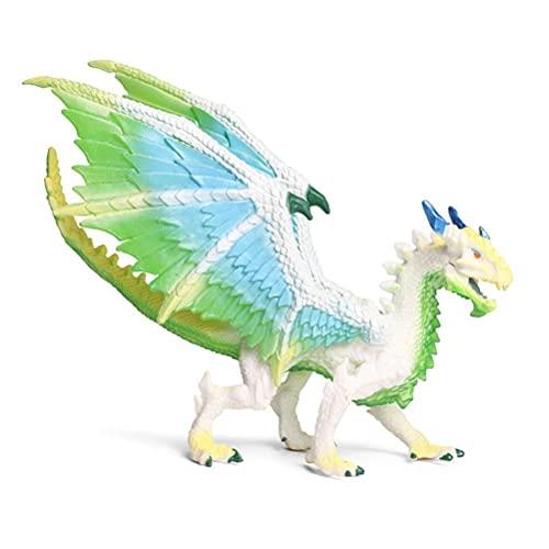 Comtervi Juguetes de Dinosaurio, Dinosaurio Realista Juguetes de dragón de Hielo Modelos de Dino Juguetes de Anime para niños Regalo decoración del hogar