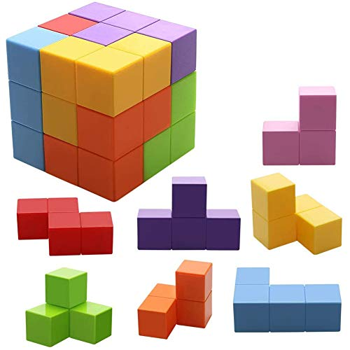 Magic Cubes Toys Stress Relief for Adults Blocks for Kids Building Blocks Bricks Toy Educational Puzzles